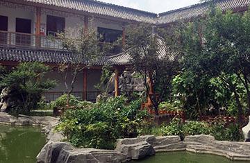 郑东新区中华保险大厦屋顶花园