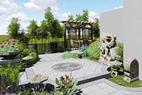 郑州庭院设计公司:为你的庭院考虑这5种景观照明