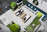 郑州庭院设计公司:常用的庭院设计规则