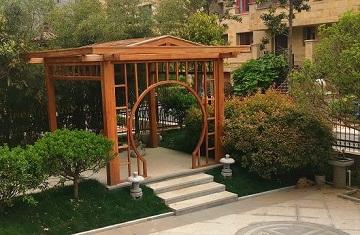 郑州别墅花园设计-盛景濠庭